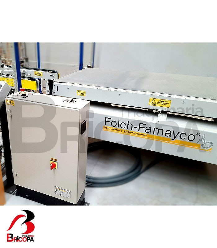 Used automatic table for door block preparation folch famayco