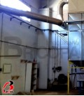 USED SILO WITH DUST COLLECTOR