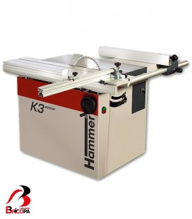 SLINDING TABLE SAW K3 WINNER HAMMER