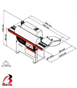 PRE GLUED EDGE BANDER V320 CASADEI INDUSTRIA