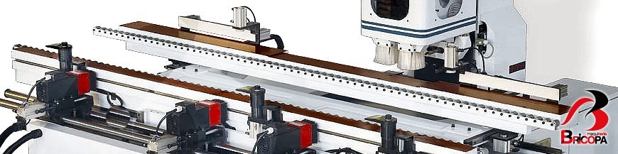 Door milling machines