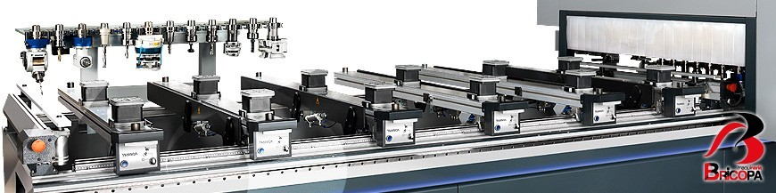 Cnc working centers