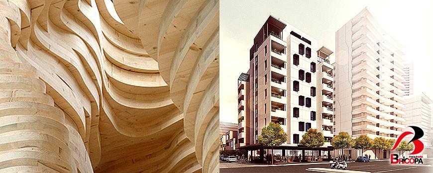 Ventajas de la construcción de edificios de madera